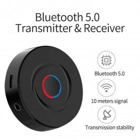 DrPhone STREAMX6 Bluetooth 5.0-zenderontvanger - Draadloze audioadapter – TX/RX Transmitter - HIFI Geluidskwaliteit