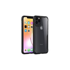 DrPhone iPhone 11 Pro Hybrid Protective Case Cover - Ultra Slim Bumper – Anti-Schok – Zwart