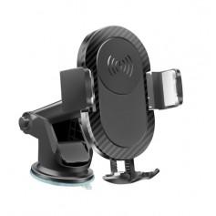 DrPhone QC1 - Wireless charging voor auto - Telefoon houder - Handsfree - Bellen - Qi - Draadloos