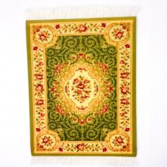 DrPhone - Perzisch Tapijt Muismat - Zachte Oppervlak Mousepad Voor Bureau - Rood Vierkant