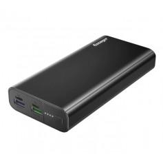 DrPhone Essager X1 – Powerbank – 20000 mAh- Supercharge – Fastcharge – Reizen – Zwart