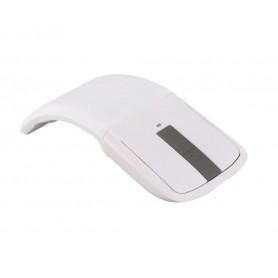 DrPhone - F1 Draagbaar Muis - Reizen - 2.4 Ghz - Touchscreen Windows 10 / Mac OS Opvouwbaar - Ultrabooks / Notebooks - Wit