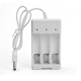DrPhone BD2 - Batterij - Oplader - Usb - Compact - Reizen - AA - AAA