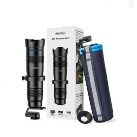 DrPhone APEX28 - Smartphone Zoom Lens – 28x inzoomen – HD – Professioneel gebruik – Zwart