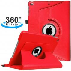 DrPhone Draaibare 360° PU Lederen Cover iPad Mini 4/5 Rood