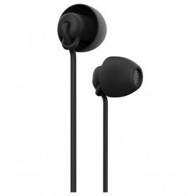 DrPhone - ComfortPro - USB-C in-Ear Oordoppen met DAC Support - Comfortabel met Type-C voor o.a. Note 10 / S10 / S20 Zwart