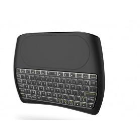 ElementKeyboard KB1 - Wireless Toetsenbord met Touchpad - LED Backlight - Keyboard voor o.a. Smart TV / Tablet / PS4 etc