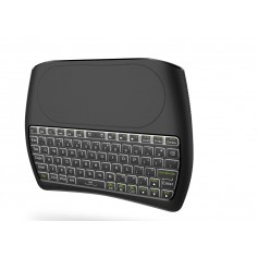 ElementKeyboard KB1 - Wireless Toetsenbord met Touchpad - LED Backlight - Keyboard voor o.a. Smart TV / Tablet / PS4 etc