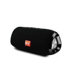 DrPhone BY1 - Draagbare Wireless 10W speaker - FM Radio - Bellen - Hi-Fi Stereo - Bluetooth 5.0 - Zwart