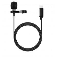 DrPhone - PX2® Lavalier - USB-C / Type-C Microfoon Smartphone voor iPad IOS / Android / Universeel