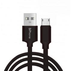 DrPhone Gold Label - Gevlochten Oplaadkabel - Micro USB - Optimaal Accuduur - Voor Apparaten met Micro USB