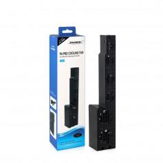 Dobe PS4 Pro koelventilator - Intelligente Temperatuur Regeling – Zwart