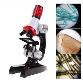 DrPhone® MSC1 - Microscoop - LED - 100X 400X 1200X Vergroting – Wetenschap Educatie – Biologische Microscope