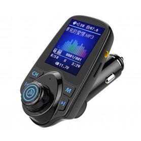 DrPhone BC7 PRO – 5 in 1 Universele Draadloze Bluetooth Handsfree-carkit met FM transmitter