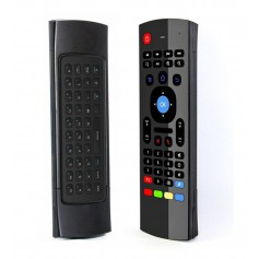DrPhone MX4 Air Mouse afstandsbediening - Draadloos Toetsenbord - 2.4G met Motion Sensing Game Handvat