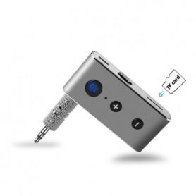 DrPhone TECH1 - Metalen Bluetooth 4.2 Audio Receiver - Ontvanger - Auto / Speakers / Audio Systeem - Smartphone/Tablet