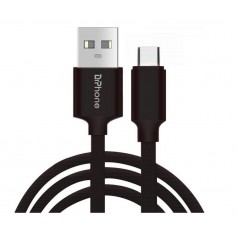 DrPhone HybridX - 1 Meter Kabel - Data + Opladen - Nintendo Switch USB-C / Type-C Oplaadkabel - Zwart