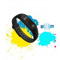 DrPhone KiDsTime Light - Slimme Horloge Voor Kinderen - SmartWatch / Activity Tracker met Hartslagmeter - Zwart