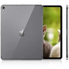 DrPhone iPad Pro 12,9 2018 TPU hoes - Flexibele Gel Case - Back cover - Geschikt voor smart cover & keyboard – Transparant