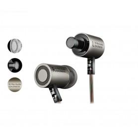 KZ HiFi In-Ear - Koptelefoon met 3.5mm Jack - Hi-Res met BASS Oortelefoon met microfoon & Geluidsisolerend – Gunmetal Grey