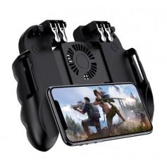 DrPhone GX5 GameController Voor Smartphones – Joystick Trigger – Ventilatie Koeling - Fortnite – PUBG – Call Of Duty - Zwart