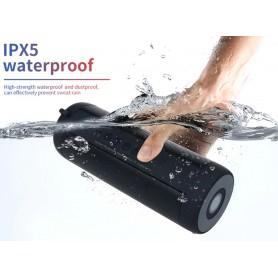 DrPhone T2 Pro – Draagbare Bluetooth Speaker – IP5 Waterdicht – Zaklamp – 10 uur capaciteit – Zwart
