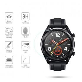 DrPhone Huawei Watch 2 Classic Glass - 46mm -22mm Gehard glazen schermbeschermer [2.5D 9H hardheid] [Anti-kras]