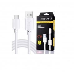 Olesit K109 TYPE-C USB-C Kabel 3 Meter - 30% Sneller Laden! - 2.1A High Speed Laadsnoer Oplaadkabel - Magnetische Ring