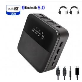 DrPhone Skylink APTX V2 - Bluetooth Audio Transmitter/Bluetooth Audio Receiver/APTX HD/2in1/Low Latency/Bluetooth 5.0