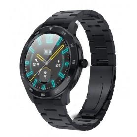 DrPhone Model X - Bluetooth Smartwatch Met Belfunctie - Microfoon - Stappenteller - Luxe Horloge - Sporthorloge - Zwart