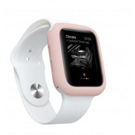 Drphone Apple Watch 1/2/3 42mm Case – Kras en Schokbestendig TPU - Roze