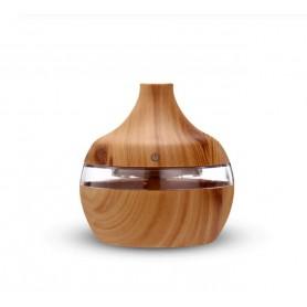 DrPhone Ultrasone Luchtbevochtiger - Humidifier - Verwisselbare Aroma Essentiële Olie Diffuser met 7 kleuren Ledlicht