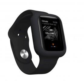 Drphone Apple Watch 1/2/3 40mm Case – Kras en Schokbestendig TPU - Zwart