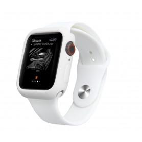 Drphone Apple Watch 1/2/3 38mm Case – Kras en Schokbestendig TPU - Wit