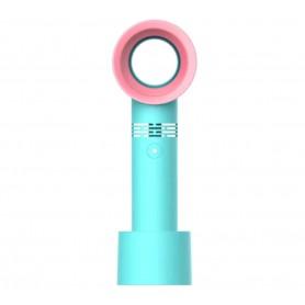 DrPhone Bladeless Tafelventilator – 3 standen – USB 3 Oplaadbaar – Bladloos – Draagbaar Mini Koelventilator – Zwart