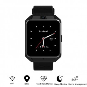 4G Smartwatch Telefoon Polsband Voor Android 6.0 Quad Core 1G Ram 8G Rom Gps Wifi hartslag Sport Armband Video-oproep