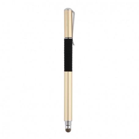 DrPhone – SX Pro V6 DELUX – Met Clip – Stylus Pen Side Grip – Precision Disc Capacitief – Universeel – Zwart