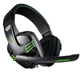 DrPhone ELEMENTX1 - Gaming Headset voor PC / PS4 Xbox One Over Ear Gaming Koptelefoon met Microfoon