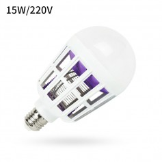 DrPhone MKL2 E27 15W LED licht + Muggen Killer Lamp – Energielabel A- Anti-Muggen voor o.a Thuis/ Slaapkamer etc
