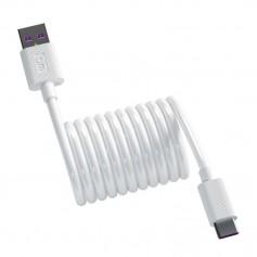 DrPhone DM Series - USB-C 5A Oplaadkabel + Datakabel - Extra Stevig - 1M - Laadkabel - HUAWEI Tablet / Smartphone - 1 Meter