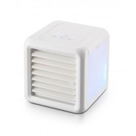 DrPhone AirX5 Pro – Mini Luchtverkoeler + Nachtlamp – 8 Nachtlamp standen / Kleuren – Baby / Kinderkamer – Waterreservoir – Wit