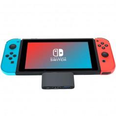 DrPhone SWITCHX - Nintendo Switch 4K HDMI Adapter - USB-C naar HDMI + USB 3.0 + USB-C Female HUB – Ondersteuning DEX