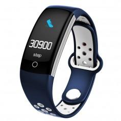 DrPhone V9 PLUS - Touchscreen Stappenteller - Hartslagmeter -Activitytracker - Smartwatch met Slimme functies - Blauw
