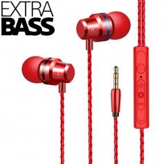 DrPhone SoundLUX® In-Ear Bekabelde Oordoppen met Jack Aansluiting – Earbuds – Hoge BASS – Hi-Res – Siphon Black