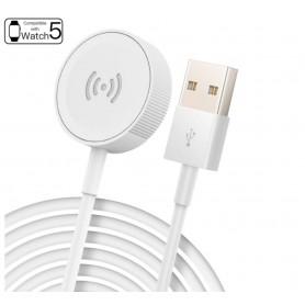 DrPhone VOLT2 - Apple Watch Laadkabel - Draadloze Oplader USB Kabel Magnetische Adapter Voor iWatch / Apple Watch 5 / 1/2/3/4/5