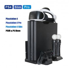 DrPhone DPS1 - Multifunctionele Cooling Stand – PS4 – Playstation – Controller - Console Cooler – VR Glasses – Slim - Pro