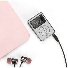 DrPhone X4 Mp3 Mini – Music Player – Led – Aux – Usb – Lcd Sn Display – Muziek Media Speler- Mini - Zilver