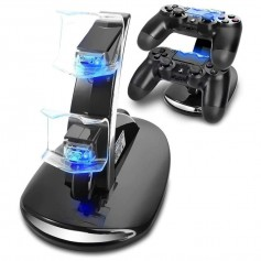 DrPhone RR Dual PS4 Controller USB Charging stand – USB Charging – PS4 – Controller Lader – Playstation console -