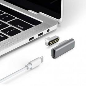 DrPhone MCP - 20Pin Magnetische USB-C Adapter - Macbook - 4K @ 60Hz PD 100W Type-C Adapter - Video / Audio Uitgang + Laden