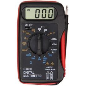 DrPhone DM2 Draagbare Digitale Multimeter – Tester - Ampèremeter Voltmeter DC/AC – Stroom Spanning - OHM Voltage Meter